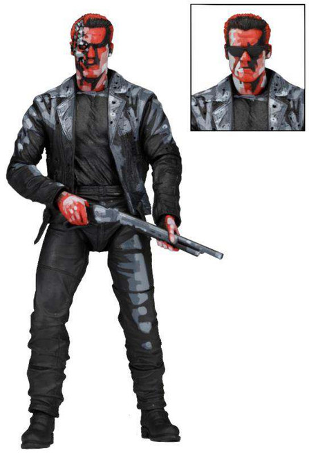 NECA Terminator 2 Judgment Day T-800 Action Figure [Video Game Appearance]