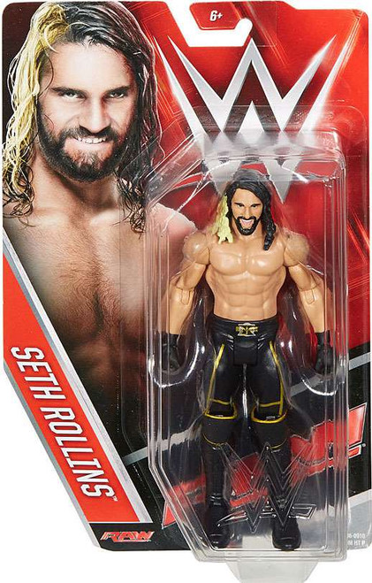 WWE Wrestling Series 60 Seth Rollins Action Figure