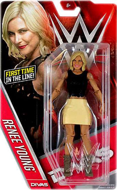 WWE Wrestling Series 60 Renee Young Action Figure
