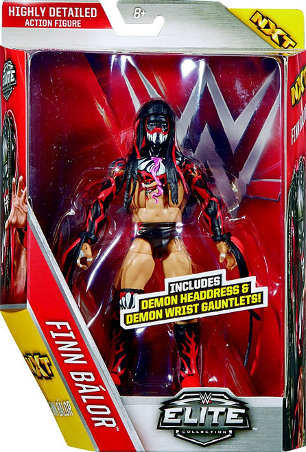 WWE Wrestling Elite Collection Series 41 Finn Balor Action Figure [Demon Headdress & Wrist Gauntlets (Version 1)]
