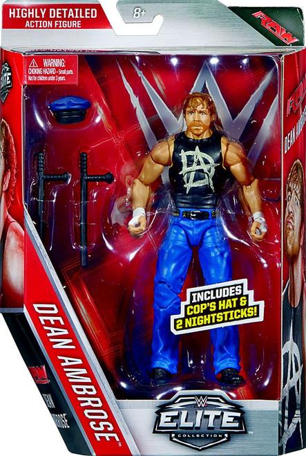 WWE Wrestling Elite Collection Series 41 Dean Ambrose Action Figure [Cop's Hat & 2 Night Sticks]