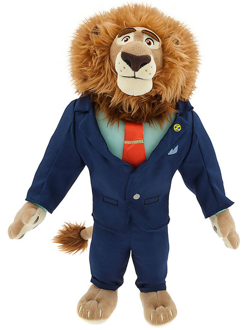 Disney Zootopia Mayor Leodore Lionheart Exclusive 16-Inch Plush
