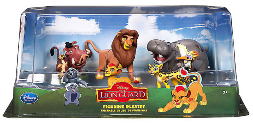 Disney The Lion Guard Exclusive 6-Piece PVC Figure Play Set