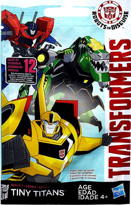 Transformers Robots in Disguise Tiny Titans Series 5 Mystery Pack