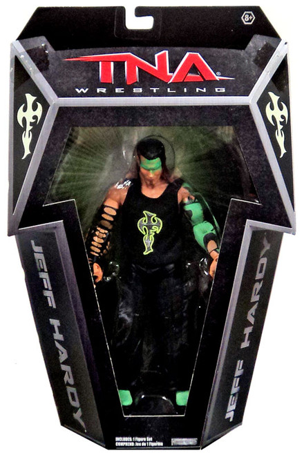TNA Wrestling Impact Jeff Hardy Exclusive Action Figure [Glow in the Dark]