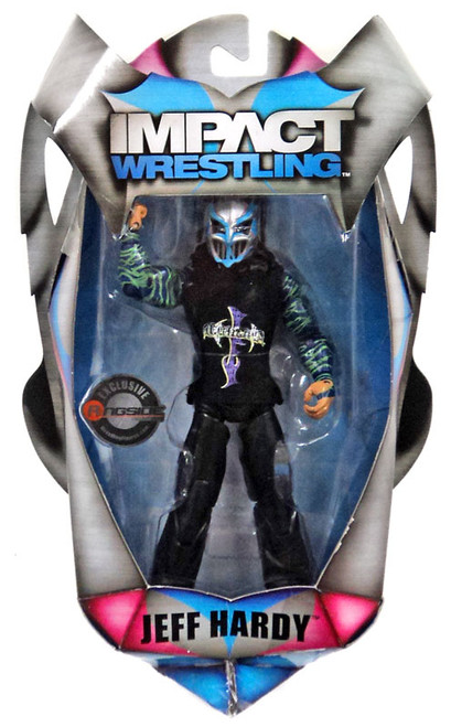 TNA Wrestling Impact Full Metal Jeff Hardy Exclusive Action Figure