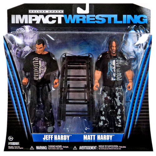 TNA Wrestling Impact Jeff Hardy & Matt Hardy Exclusive Action Figure 2-Pack [Twist of Hate]