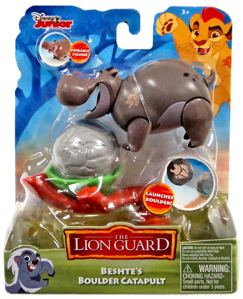 Disney The Lion Guard Beshte's Boulder Catapult Figure Pack