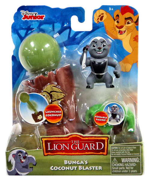 Disney The Lion Guard Bunga's Coconut Blaster Figure Pack