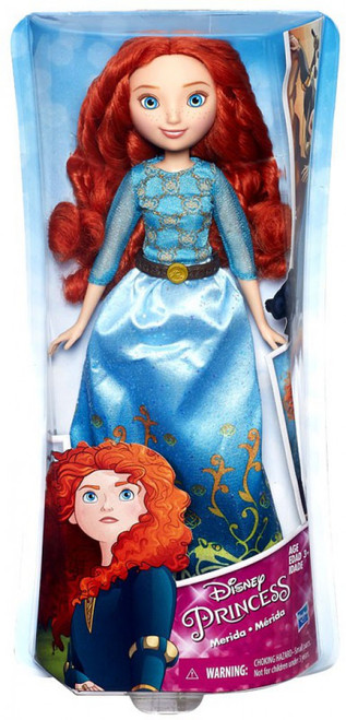 Disney Princess Royal Shimmer Merida 11-Inch Doll [2016]