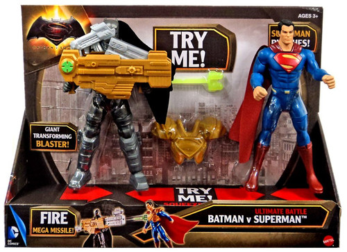 DC Batman v Superman: Dawn of Justice Ultimate Battle Action Figure 2-Pack