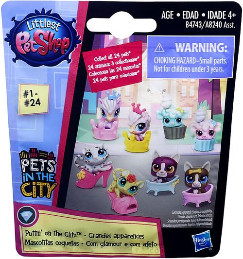 Littlest Pet Shop 2016 Series 1 Puttin on the Glitz Mystery Pack
