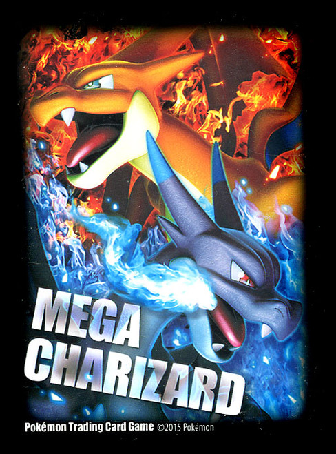 Pokemon Trading Card Game Mega Charizard X & Y Card Sleeves
