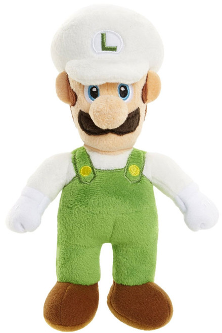 World of Nintendo Super Mario Fire Luigi 7-Inch Plush