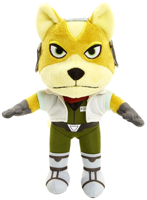 Starfox World of Nintendo Fox McCloud 7-Inch Plush