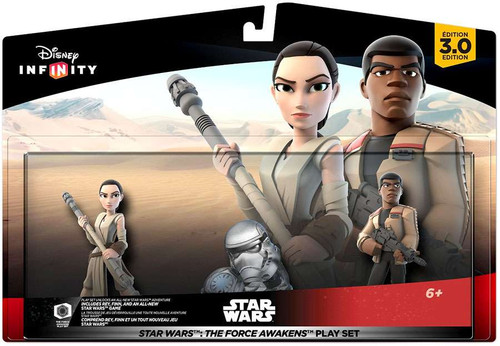 Disney Infinity Star Wars 3.0 Originals The Force Awakens Playset Game Figure 2-Pack