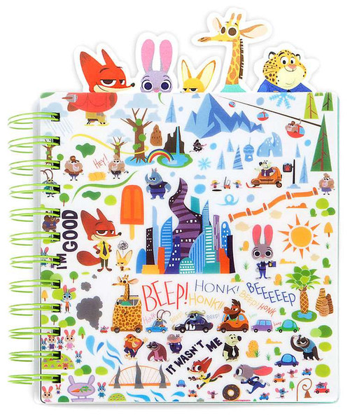 Disney Zootopia Journal