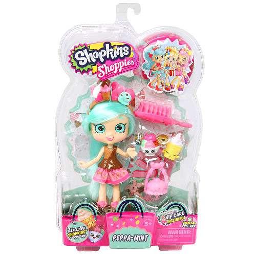 Shopkins Shoppies Peppa-Mint Doll Figure