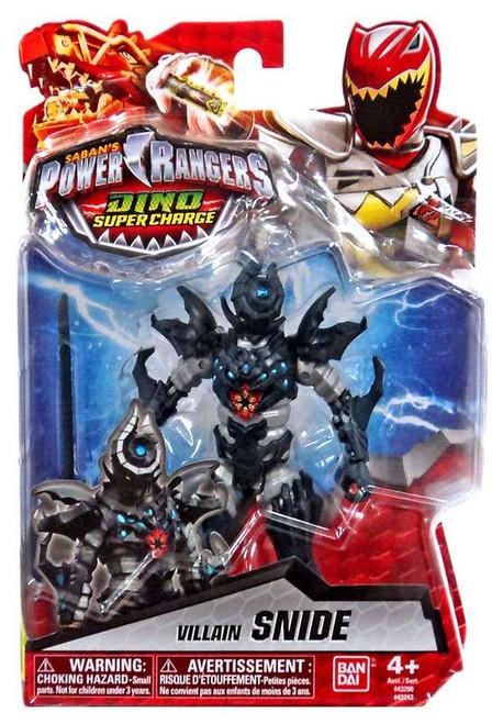 Power Rangers Dino Super Charge Villain Snide Action Figure