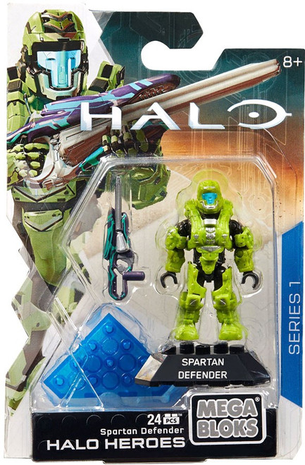 Mega Bloks Halo Heroes Series 1 Spartan Defender Mini Figure