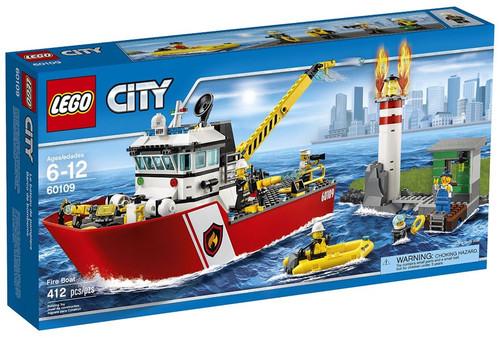LEGO City Fire Boat Set #60109
