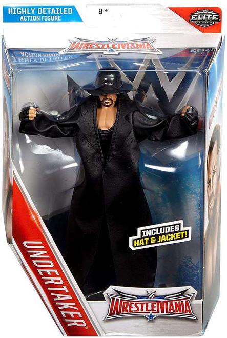 WWE Wrestling Elite Collection WrestleMania 32 Undertaker Action Figure [Hat & Jacket]