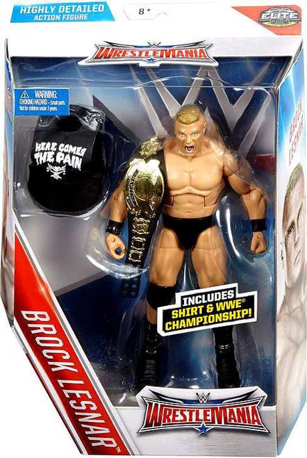 WWE Wrestling Elite Collection WrestleMania 32 Brock Lesnar Action Figure