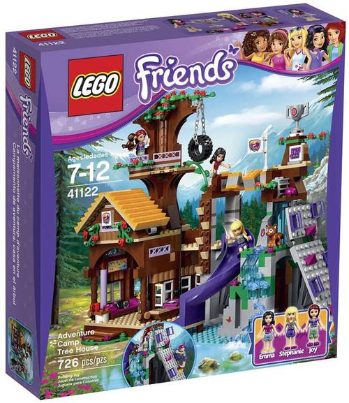LEGO Friends Adventure Camp Tree House Set #41122