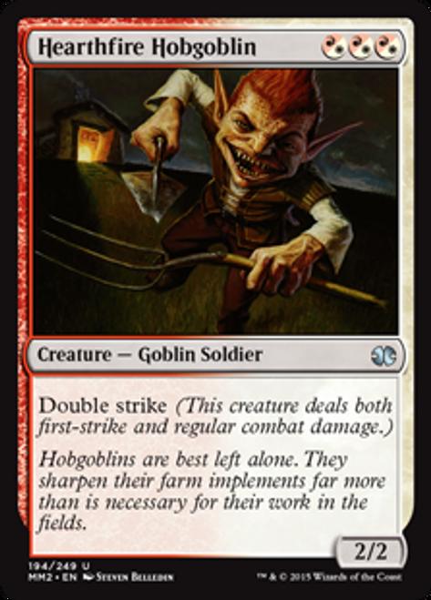 MtG Modern Masters 2015 Uncommon Foil Hearthfire Hobgoblin #194