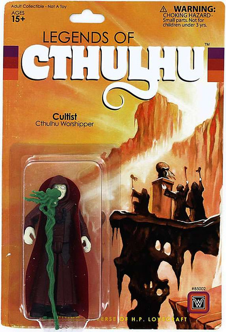 Legends of Cthulhu Cultist Retro Action Figure