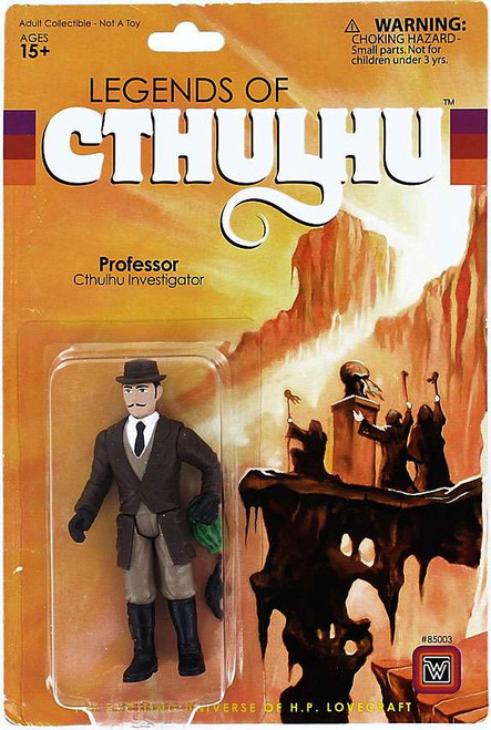 Legends of Cthulhu Professor Retro Action Figure