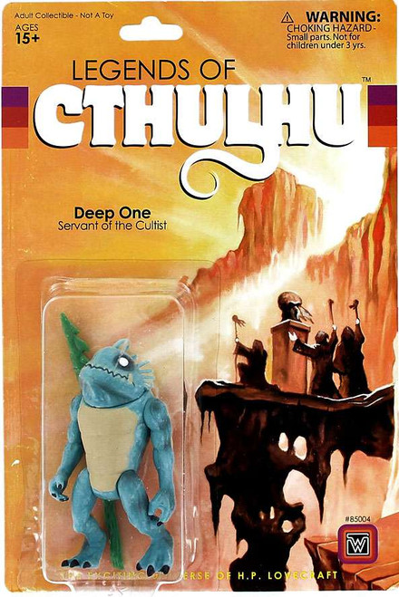 Legends of Cthulhu Deep One Retro Action Figure
