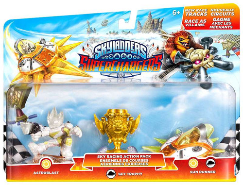 Skylanders SuperChargers Sky Racing Action Pack [Astroblast, Sky Trophy & Sky Runner]