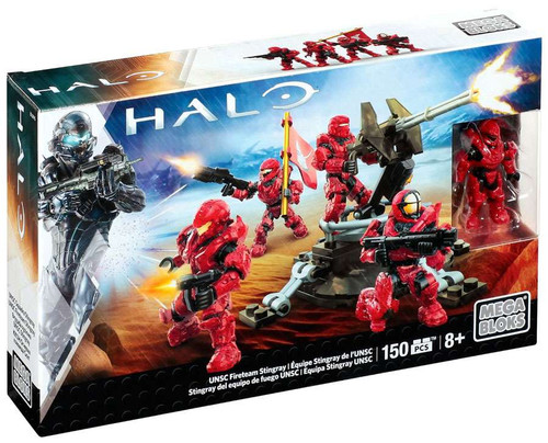 Mega Bloks Halo UNSC Fireteam Stingray Set #25420