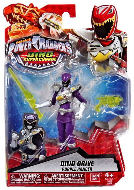 Power Rangers Dino Super Charge Dino Drive Purple Ranger Action Figure