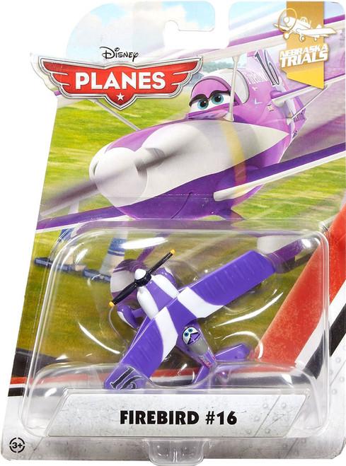 Disney Planes Nebraska Trials Firebird #16 Diecast Plane