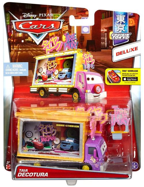 Disney / Pixar Cars Cruisin' Tokyo Taia Decotura Diecast Car #7/9