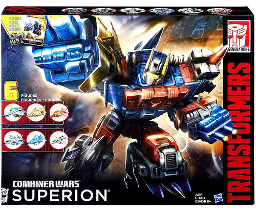 Transformers Generations Combiner Wars G2 Superion Action Figure Collection Pack