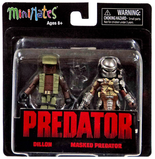 Minimates Series 1 Dillon & Masked Predator 2-Inch Minifigure 2-Pack