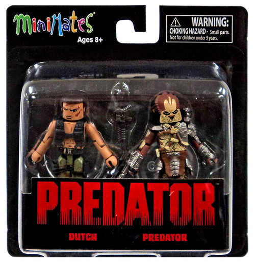 Minimates Series 1 Dutch & Predator 2-Inch Minifigure 2-Pack