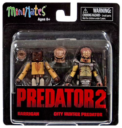 Predator 2 Minimates Series 1 Harrigan & City Hunter Predator 2-Inch Minifigure 2-Pack
