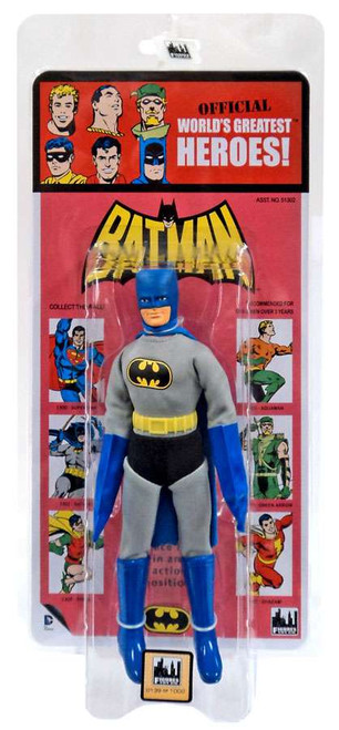 DC World's Greatest Heroes! Kresge Retro Style Series 3 Batman Retro Action Figure