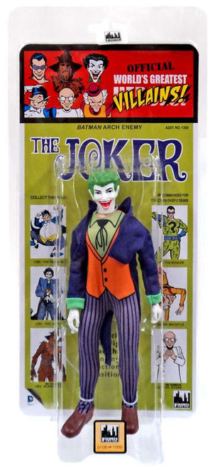 DC World's Greatest Villains! Kresge Retro Style Series 3 The Joker Retro Action Figure