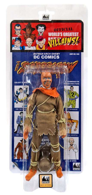 DC World's Greatest Villains! Kresge Retro Style Series 3 The Scarecrow Retro Action Figure