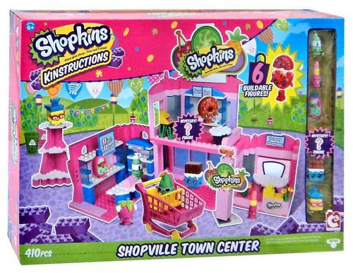 Shopkins Kinstructions Shopville Town Center Building Set
