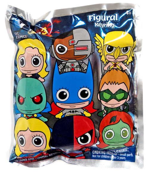 3D Figural Keyring DC Series 3 Mystery Pack [1 RANDOM Figure]