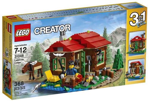 LEGO Creator Lakeside Lodge Set #31048