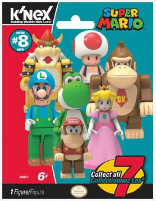 K'NEX Super Mario Series 8 Mystery Pack [1 RANDOM Figure]