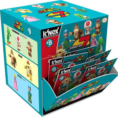 K'NEX Super Mario Series 8 Mystery Box [48 Packs]