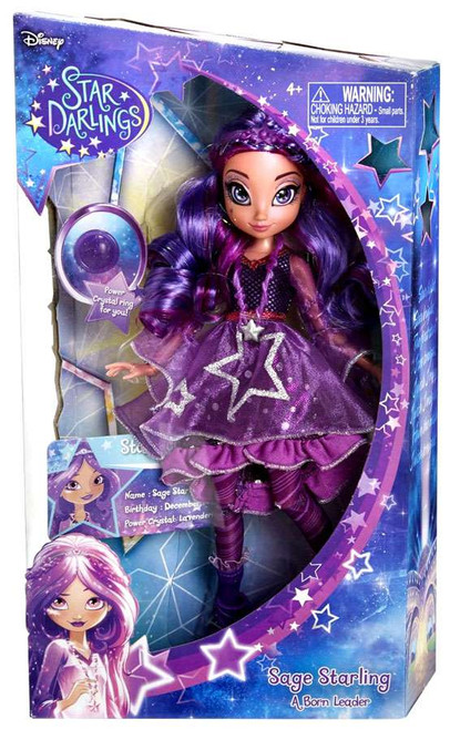Disney Star Darlings Starland Fashion Sage Starling 10.5-Inch Deluxe Doll